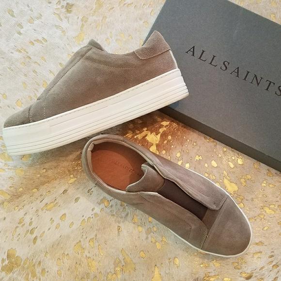 23756b924f5 All Saints Shoes - AllSaints Aya Slip On Platform Size 40